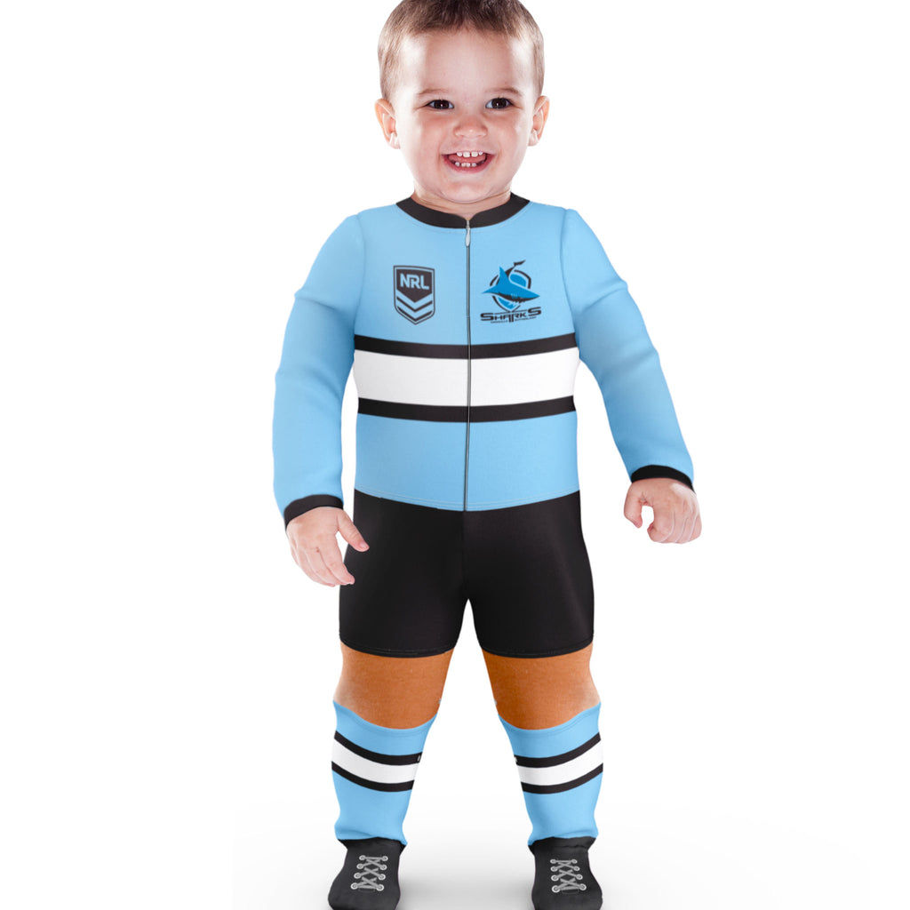 NRL Sharks Footysuit