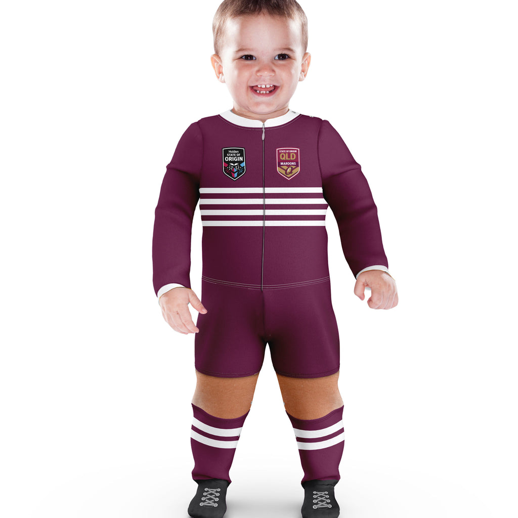 QLD Maroons Footysuit