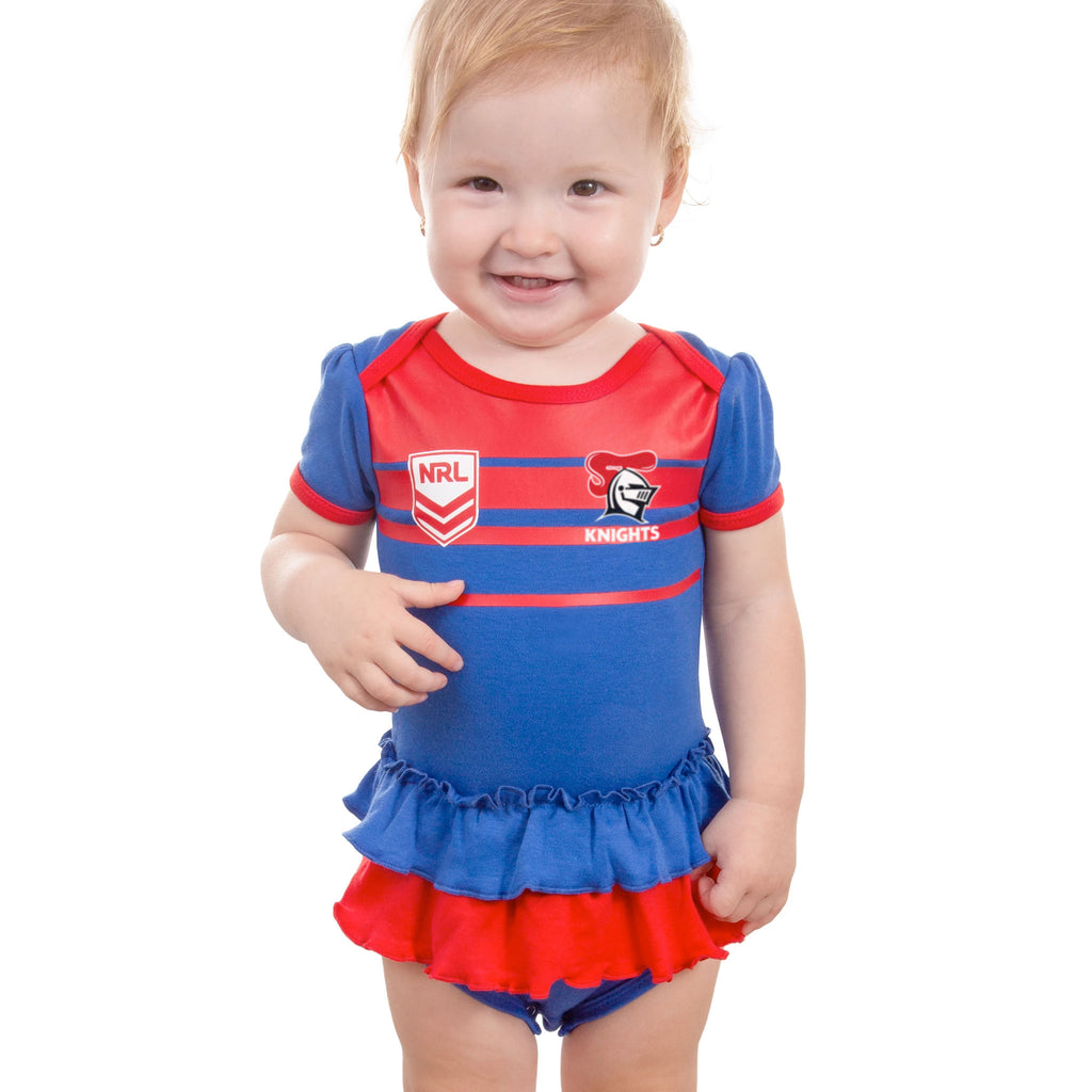 NRL Knights Girls Footysuit
