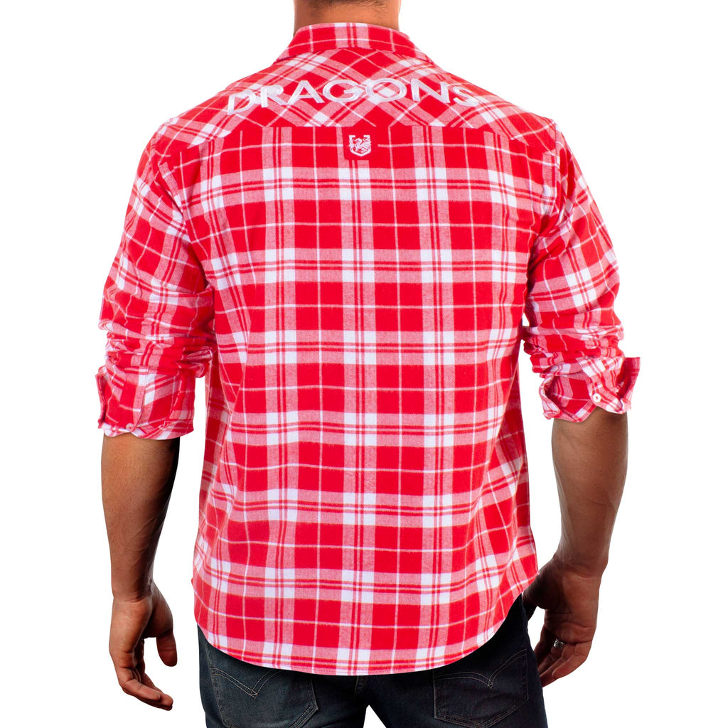 NRL Dragons Flannel Shirt