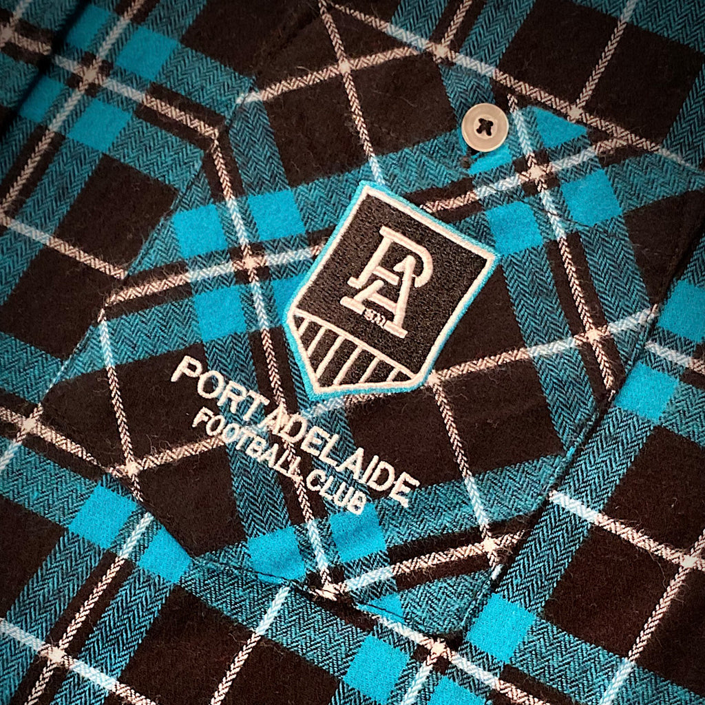 AFL Port Adelaide Flannel Shirt Ashtabula