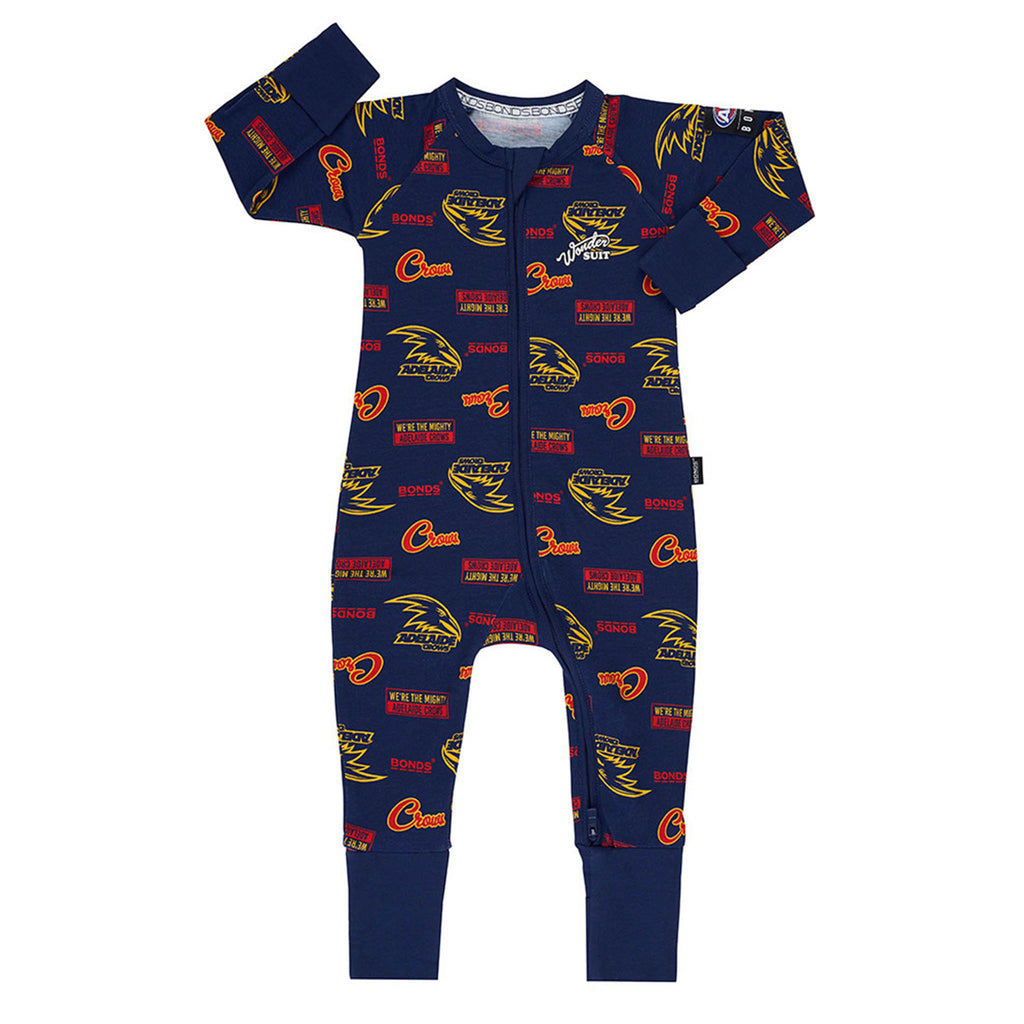 AFL Adelaide Crows Zip Wondersuit