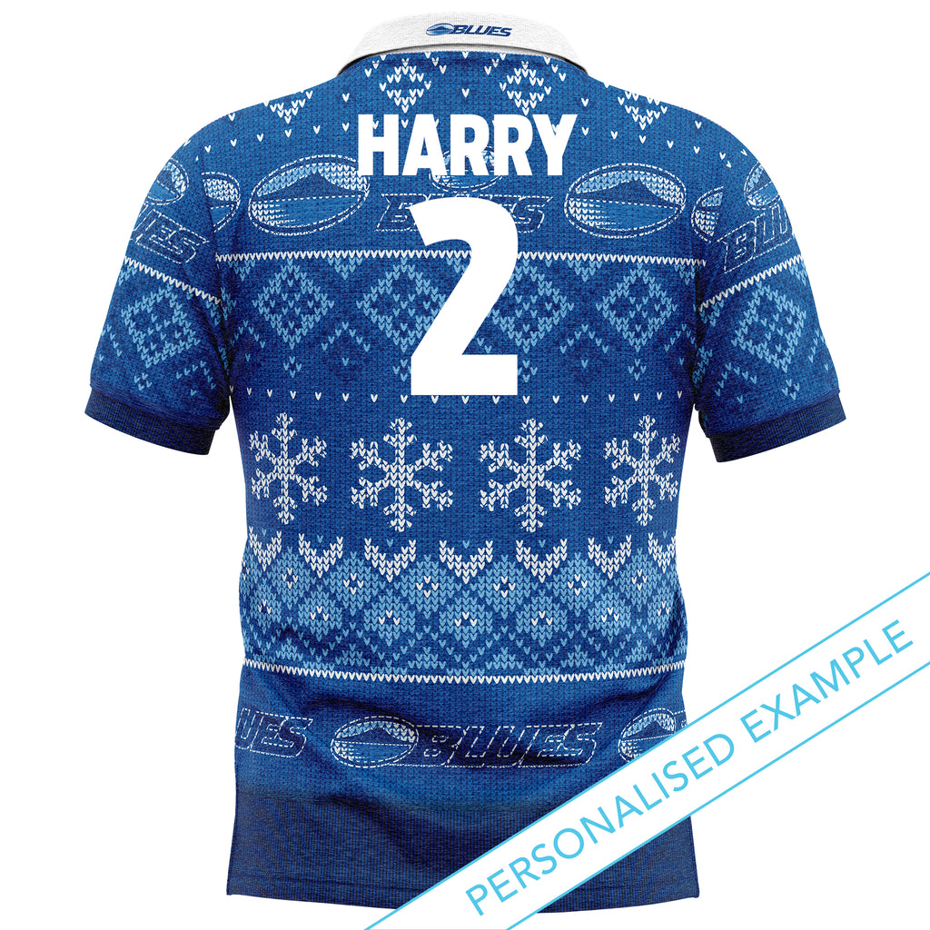 NZ Blues XMAS Polo Shirt