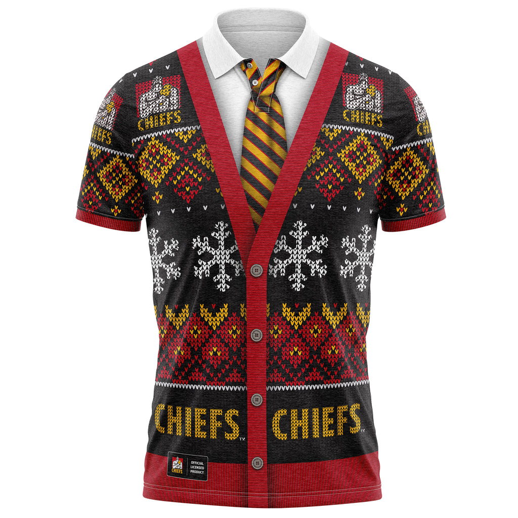 NZ Chiefs XMAS Polo Shirt