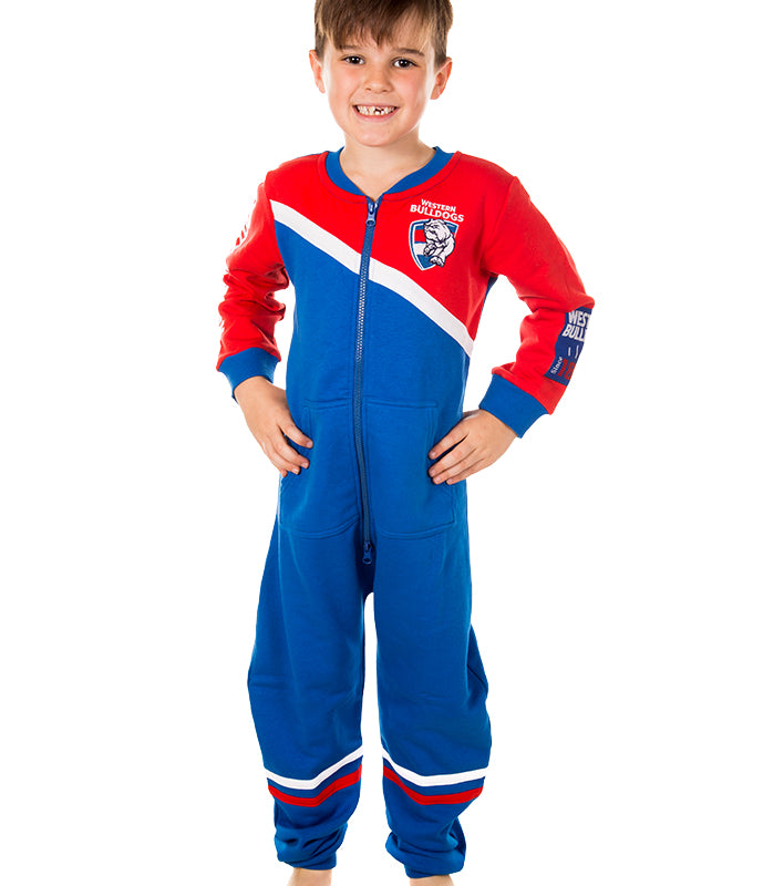 AFL Western Bulldogs Youth Onesie AshTabula