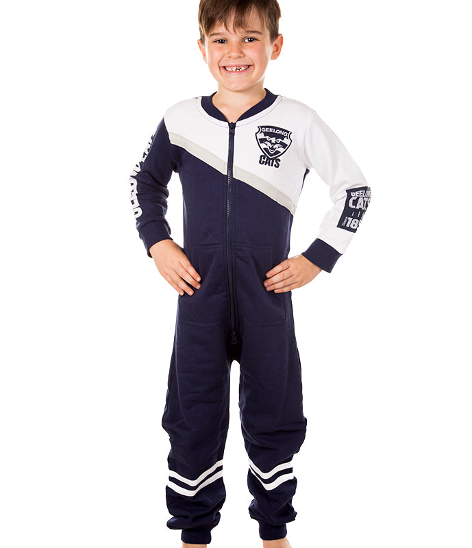 AFL Geelong Cats Youth Onesie AshTabula