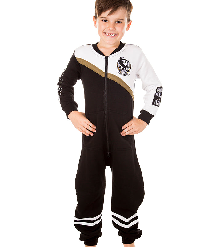 AFL Collingwood Youth Onesie AshTabula