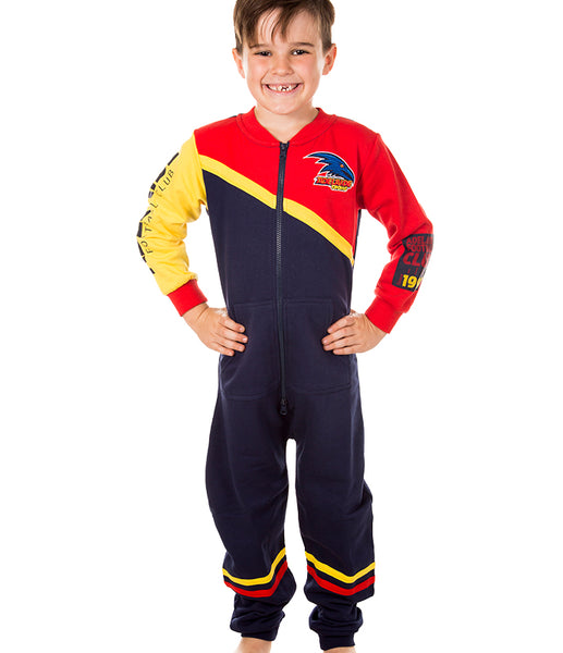 AFL Adelaide Crows Youth Onesie
