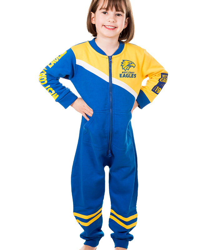 AFL West Coast Eagles Youth Onesie AshTabula