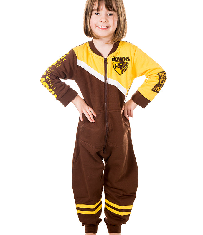AFL Hawthorn Youth Onesie Ashtabula