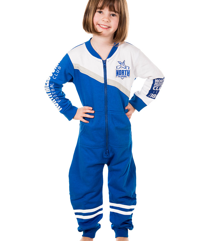 AFL North Melbourne Youth Onesie AshTabula