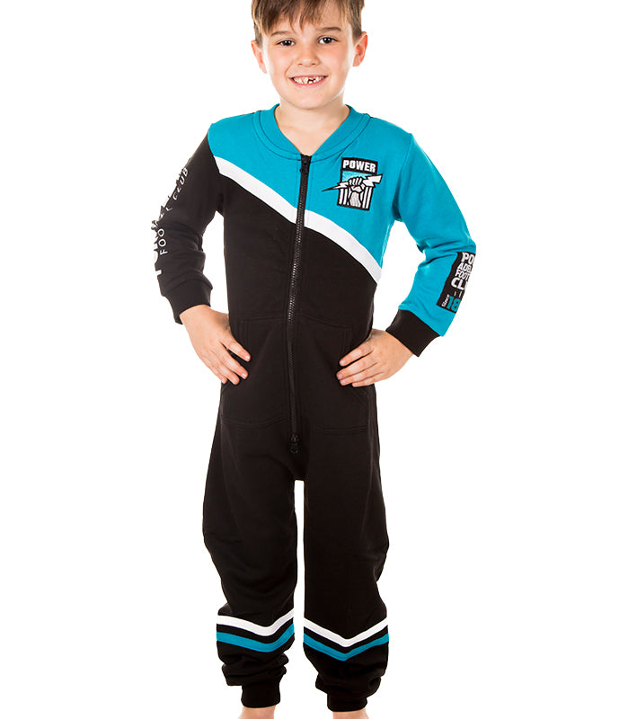 AFL Port Adelaide Youth Onesie Ashtabula