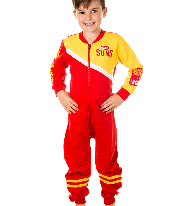 AFL Gold Coast Suns Youth Onesie Ashtabula