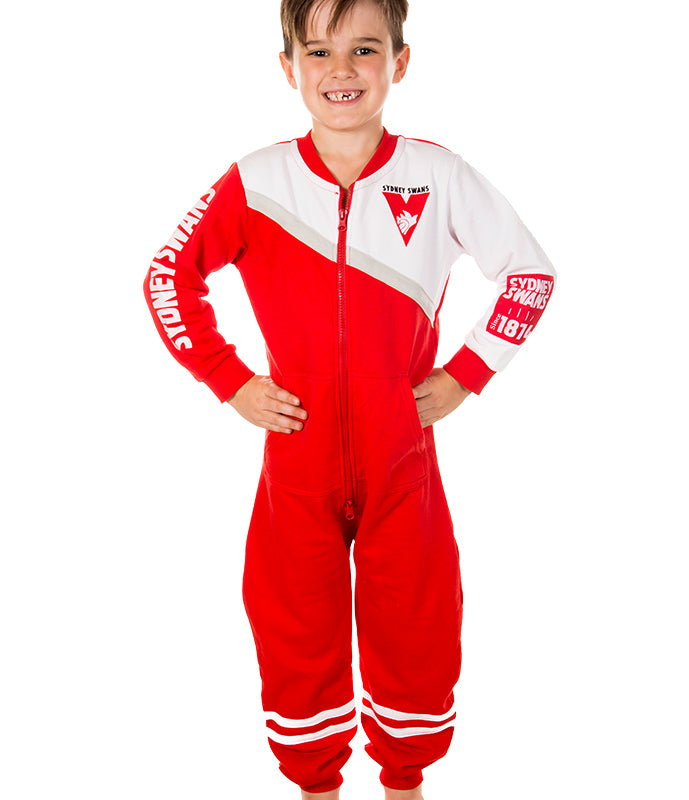 AFL Sydney Swans Youth Onesie AshTabula
