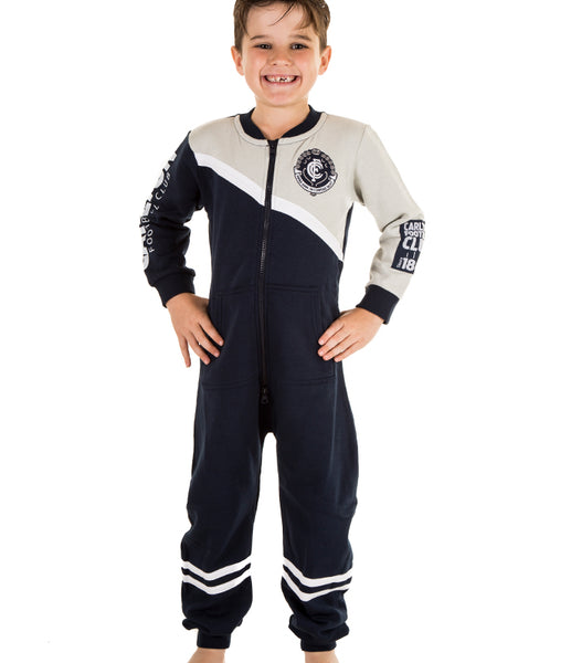 AFL Carlton Youth Onesie