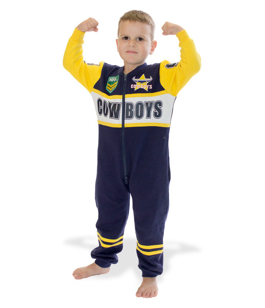 NRL Cowboys Youth Onesie AshTabula