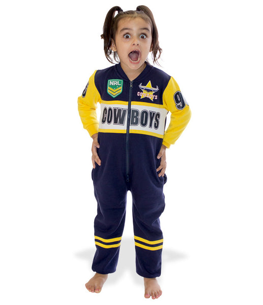 NRL Cowboys Youth Onesie