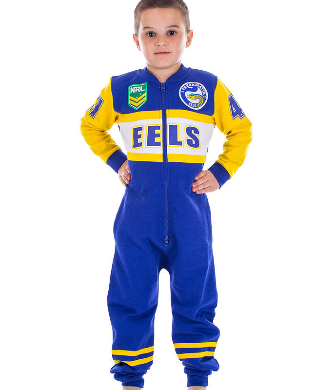 NRL Eels Youth Onesie AshTabula