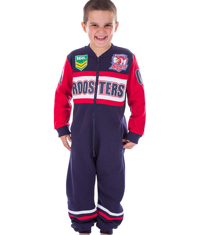 NRL Roosters Youth Onesie AshTabula