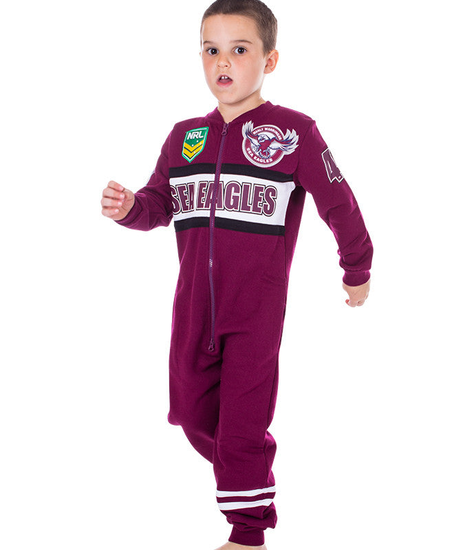 NRL Sea Eagles Youth Onesie Ashtabula