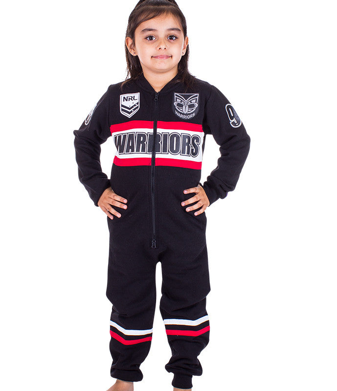NRL Warriors Youth Onesie Ashtabula