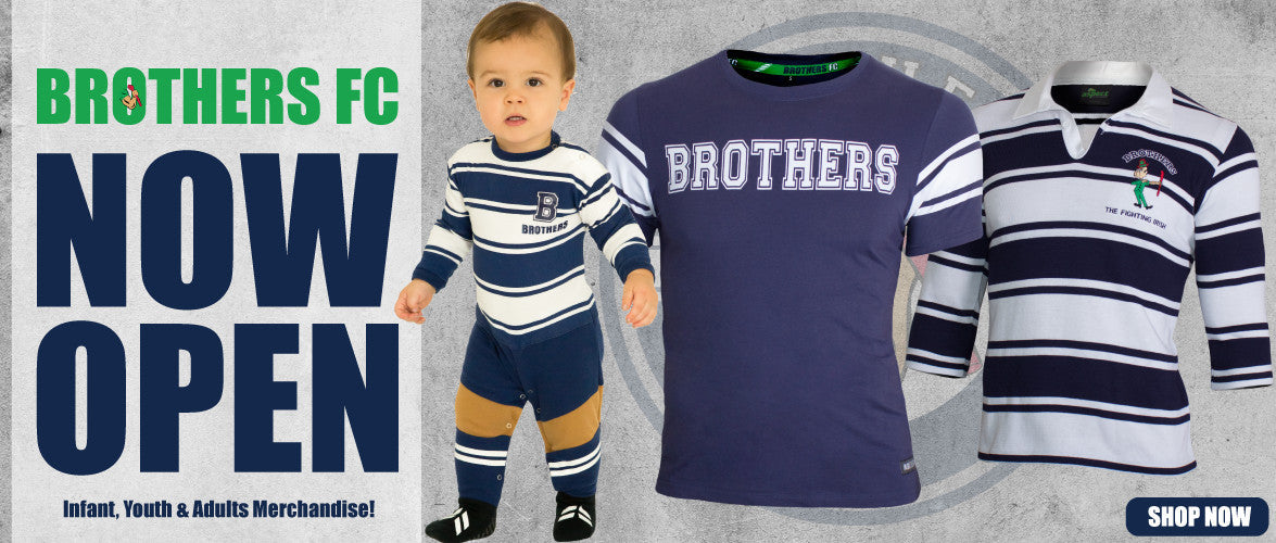 BROTHERS FC - Official range of licensed merchandise
