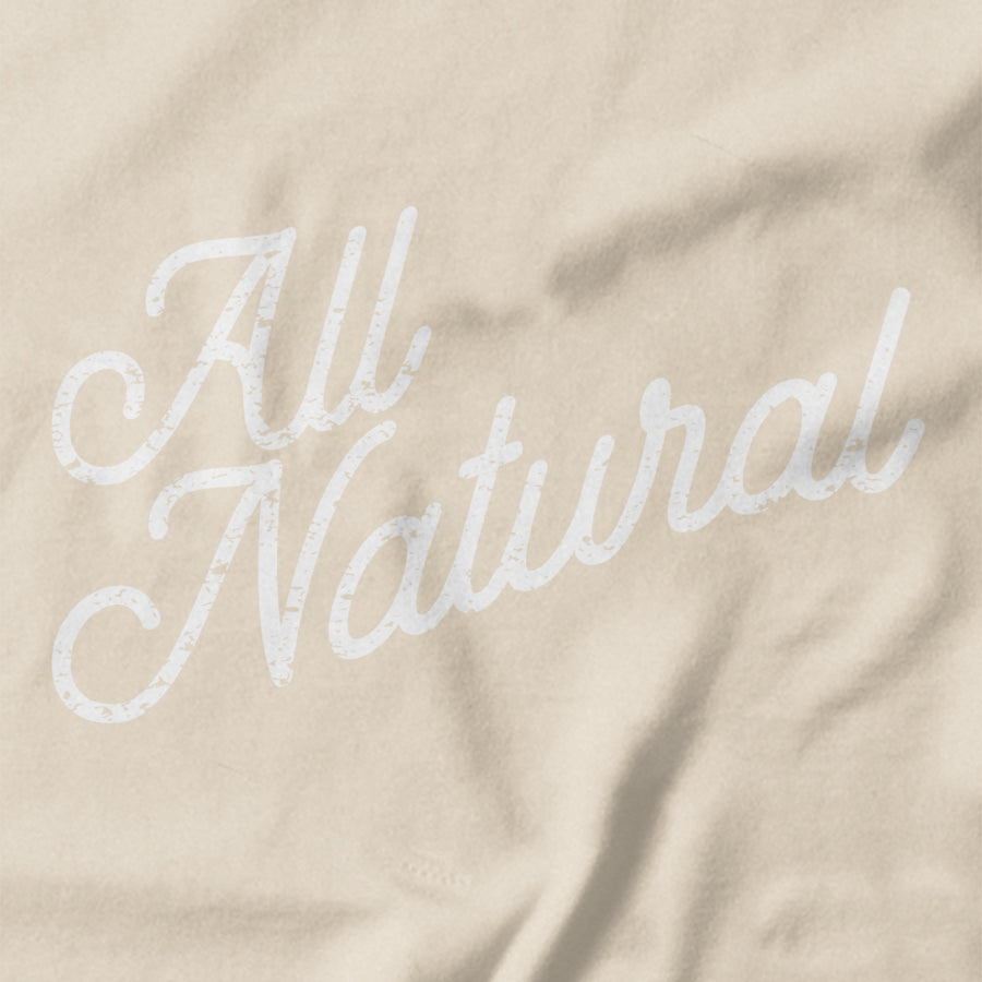 All Natural T-shirt - Pie Bros T-shirts