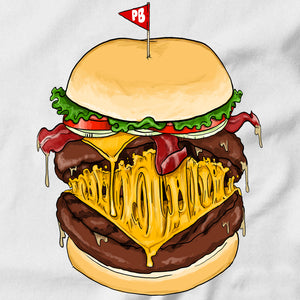 Bacon Cheeseburger T-shirt - Pie-Bros-T-shirts
