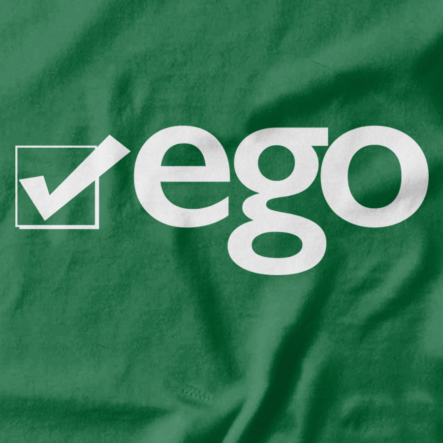 Check your Ego T-shirt - Pie-Bros-T-shirts