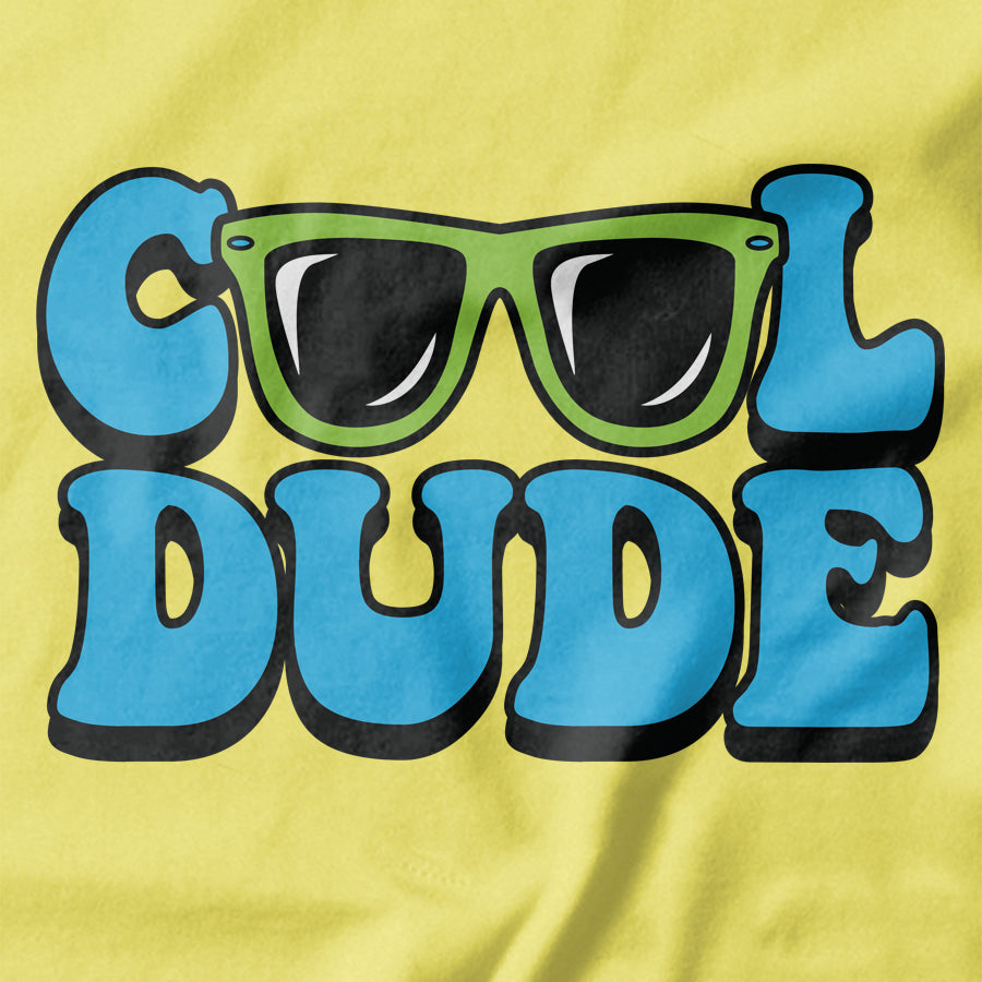 Cool Dude T-shirt - Pie Bros T-shirts
