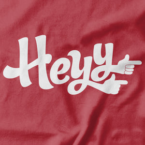 Heyy T-shirt - Pie Bros T-shirts