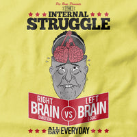 Internal Struggle T-shirt - Pie Bros T-shirts