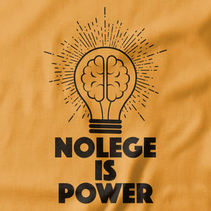 Knowledge is Power T-shirts - Pie Bros T-shirts
