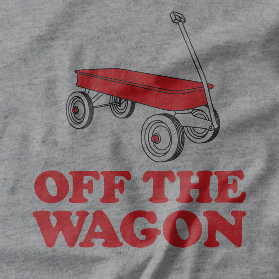 Off The Wagon T-shirt - Pie Bros T-shirts