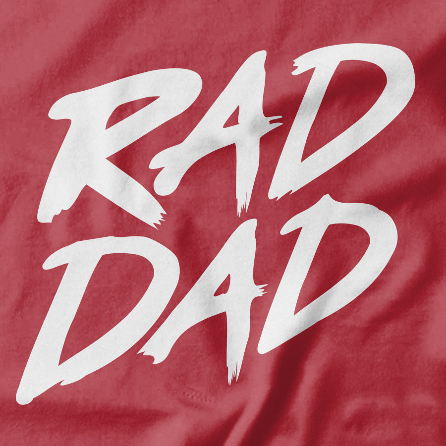 Rad Dad T-shirt - Pie Bros T-shirts