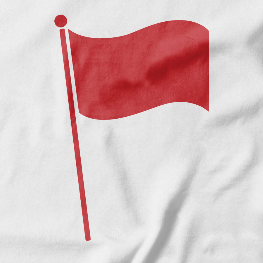 Red Flag T-shirt - Pie Bros T-shirts