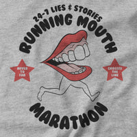 Running Mouth Marathon T-shirt - Pie Bros T-shirts