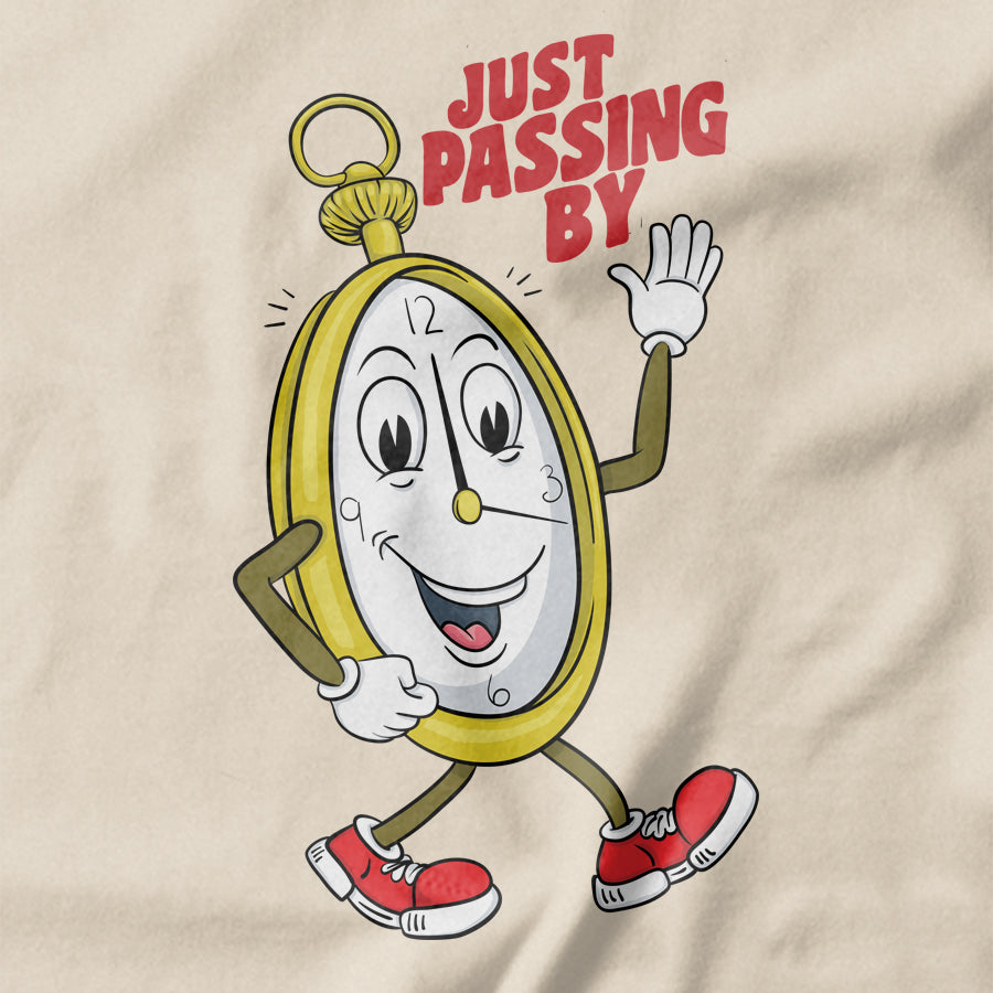 Time Passing By  T-shirt - pie-bros-t-shirts