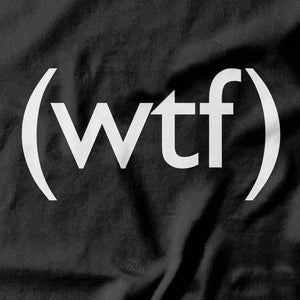 WTF T-shirt - pie-bros-t-shirts