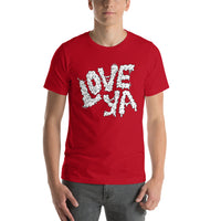 Love Ya Graphic T-shirt - Pie-Bros-T-Shirts