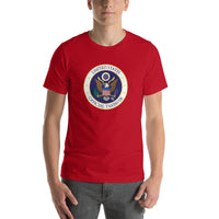 Red Taxpayer T-shirt - Pie Bros T-shirts