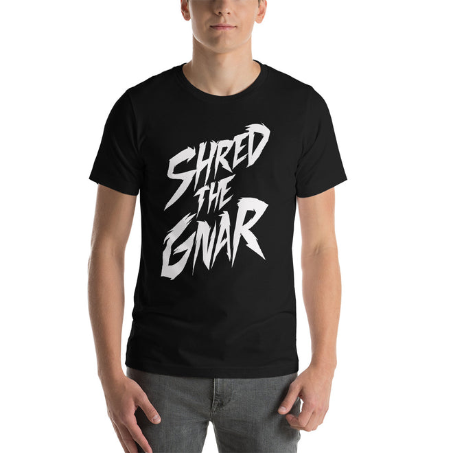 Shred the Gnar Shirt - Pie Bros T-shirts