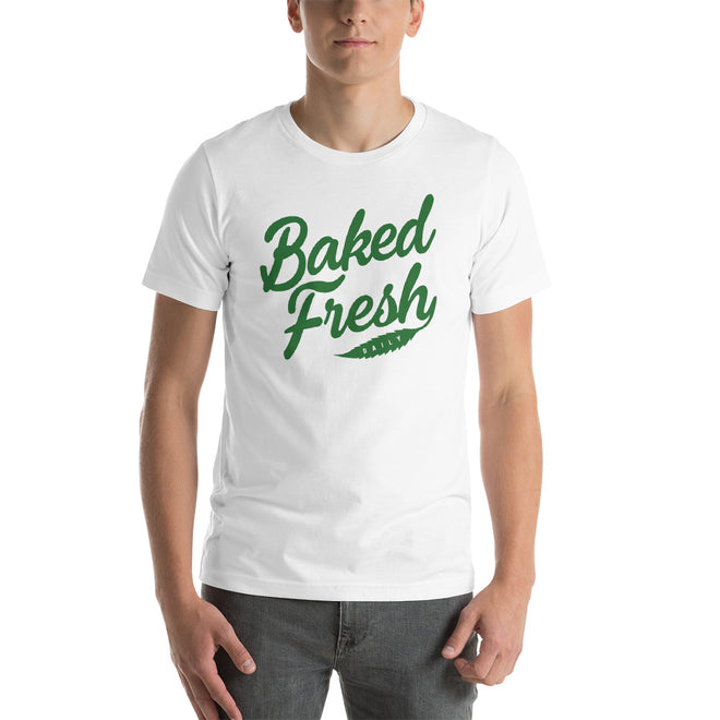 Baked Fresh Stoner T-shirt - Pie-Bros-T-shirts