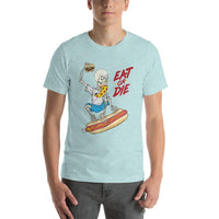 Mint Eat or Die T-shirt - Pie Bros T-shirts