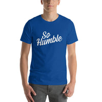 Blue So Humble T-shirt - Pie Bors T-shirts