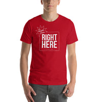 From Right Here T-shirt - Pie-Bros-T-Shirts