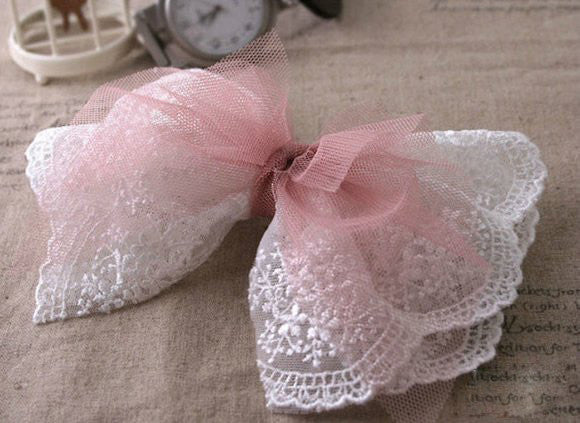 lace bowknot-girl's love
