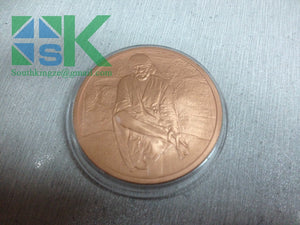 custom coin of Sai baba shirdi