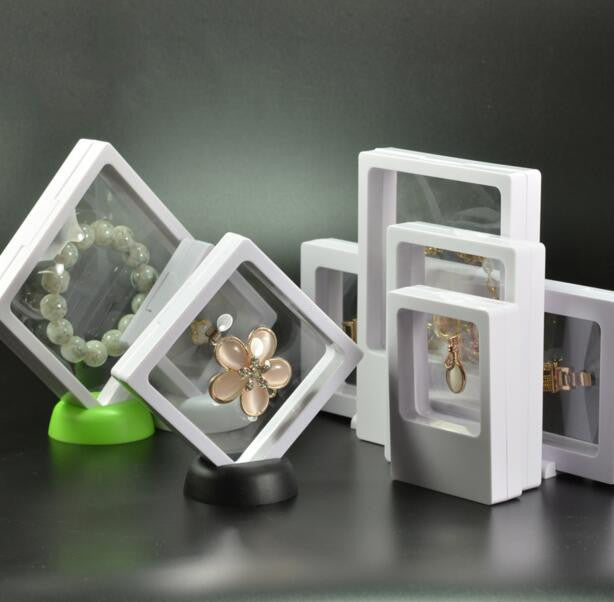 Magical multinational display box suitable for things in different size and shape. One fit all.