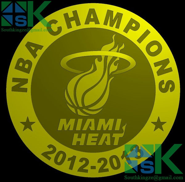 This is a souvenir gift coin for NBA Champion, MIAMI HEAT won the Champion 2012-2013 season.